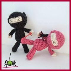 Ninjas amigurumi