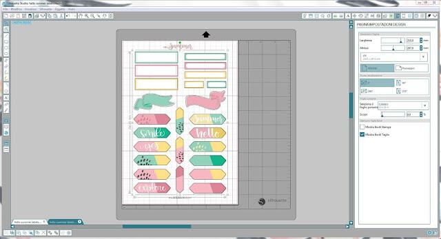 Come utilizzare i file dxf nella modalità Print & Cut | Silhouette Cameo 7