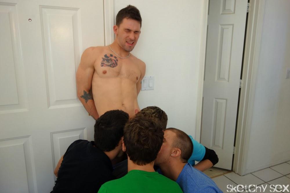 Naked girls with guys having sex