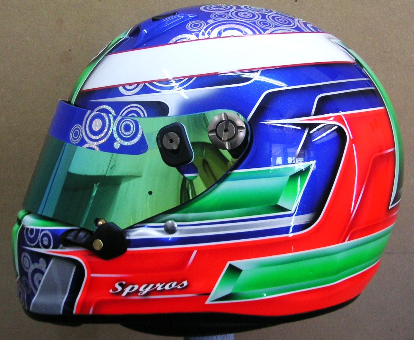 Arai Custom Design Kart Helmet #150 ~ Hand Painted Helmets ...