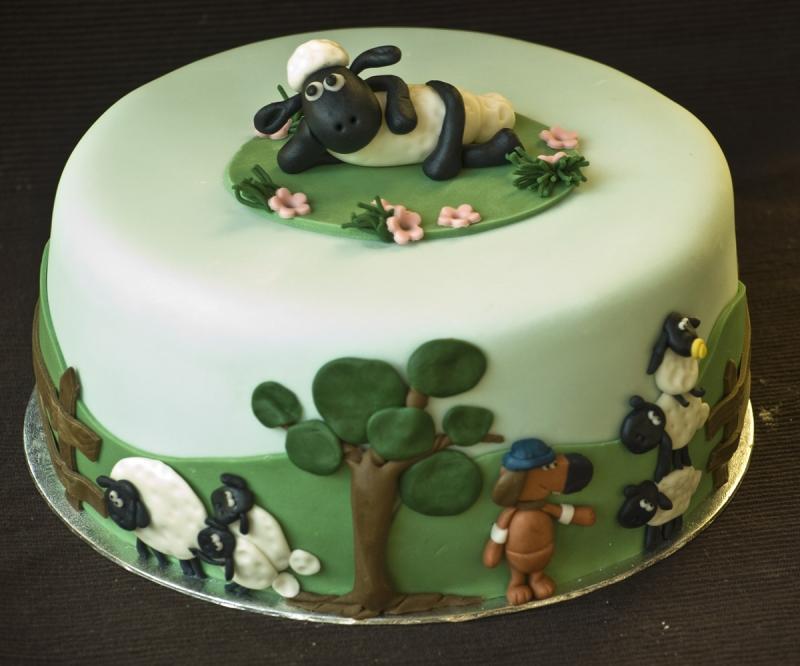 Shaun The Sheep Cakes For Birthdays Wedding Ido
