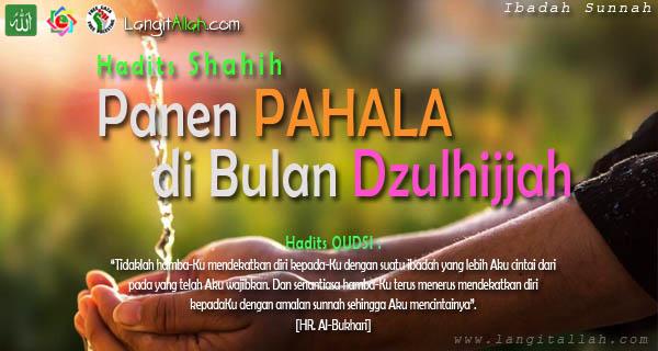 Panen Pahala Di Bulan Haram Dzulhijjah - www.langitallah.com
