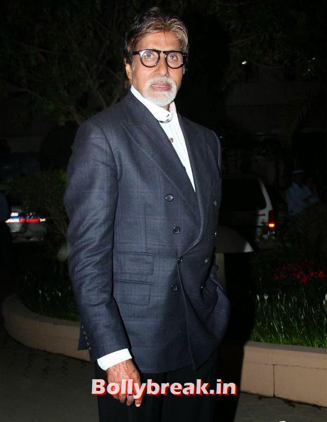 Amitabh Bachchan, Raghav Sachar, Amita Pathak Wedding Reception Pics
