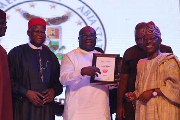 VANGUARD AWARD: PDP Congratulates Ikpeazu