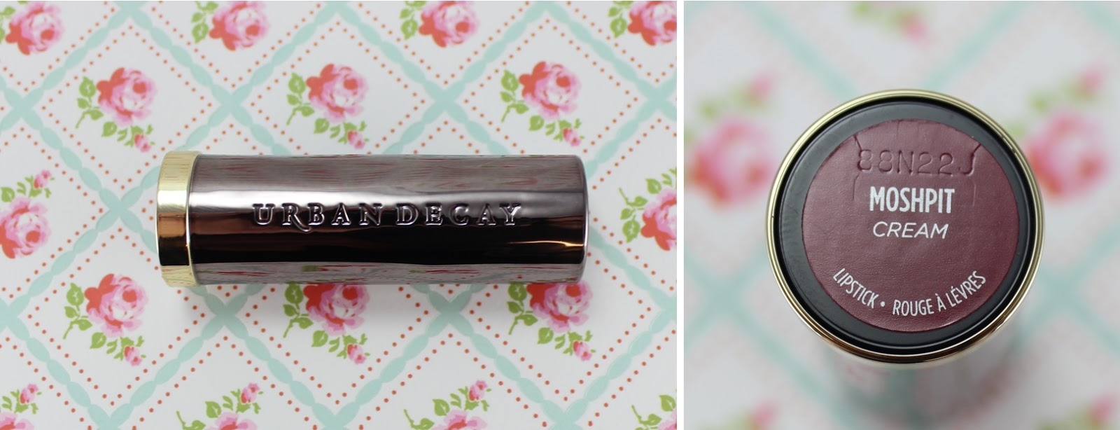 Urban Decay Vice Lipstick Moshpit review