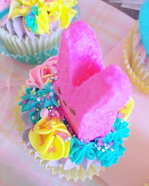 Cupcakes de Pascua + Receta de cupcakes de vainilla
