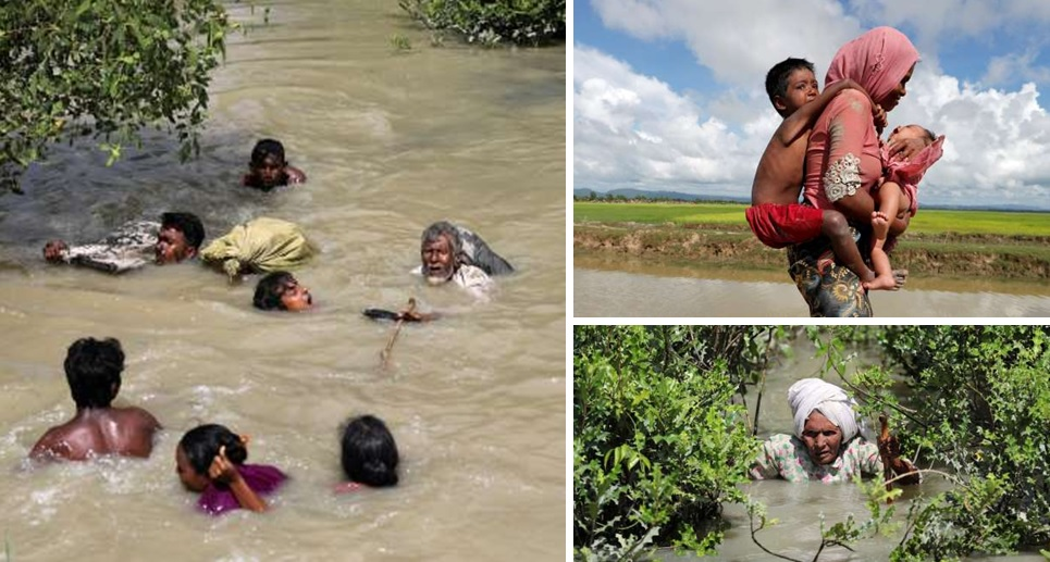 derita pengungsi rohingya