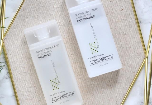 Giovanni Tea Tree Triple Treat Invigorating Shampoo and Conditioner Review