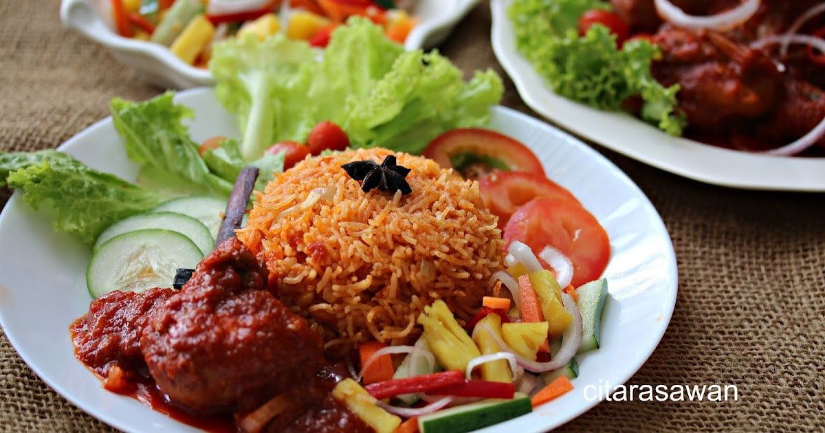 how to cook nasi tomato