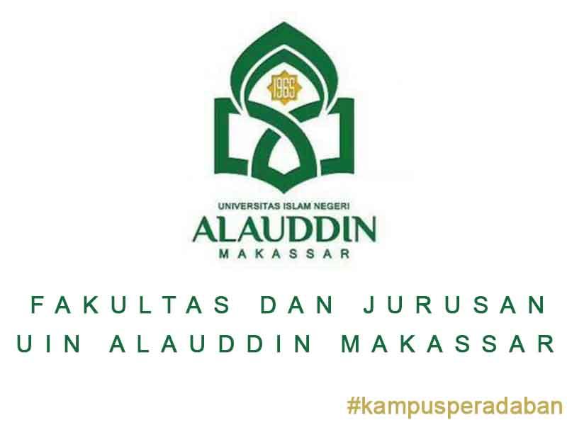 Fakultas dan Jurusan yang ada di Universitas Negeri Alauddin Makassar Tahun ini
