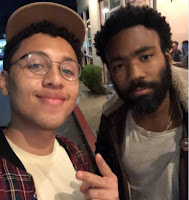 DONALD GLOVER FAN GOES VIRAL AFTER POSTING PHOTO OF ENCOUNTER ON TWITTER