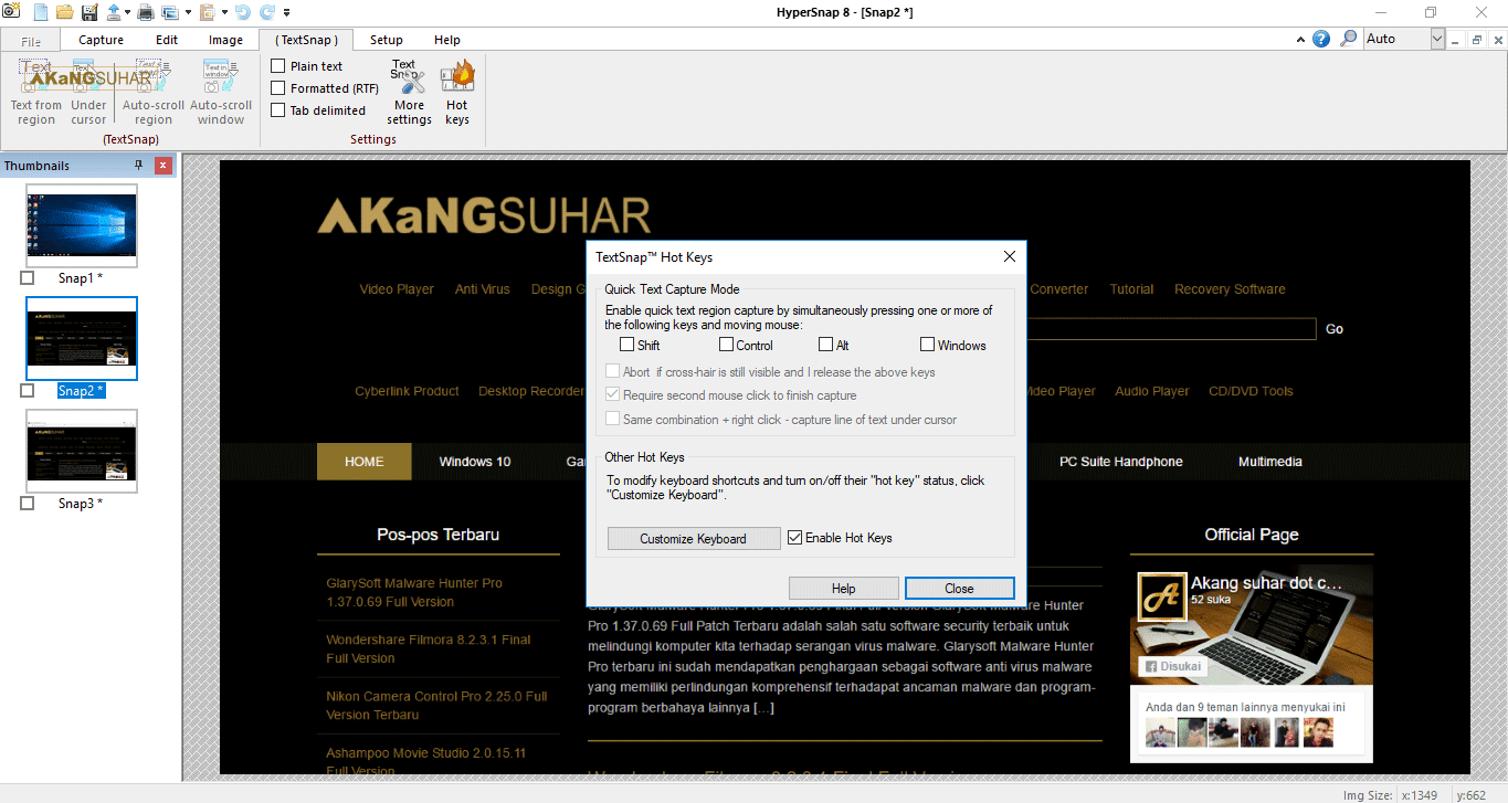 Download HyperSnap 8.13.01 Full Crack Terbaru
