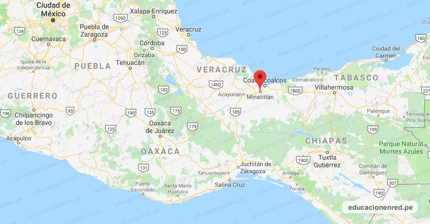 Temblor en México de Magnitud 4.0 (Hoy Sábado 19 Octubre 2019) Sismo - Epicentro - Minatitlán - Veracruz de Ignacio de la Llave - VER. - SSN - www.ssn.unam.mx