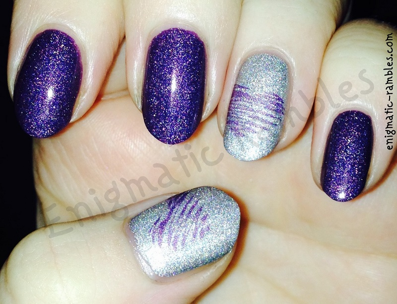 holographic-holo-stamped-heart-nails-nail-art-moyou-105-a-england-encore-margot-lady-of-the-lake