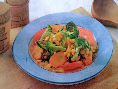Gambar Resep Cah Brokoli Ebi