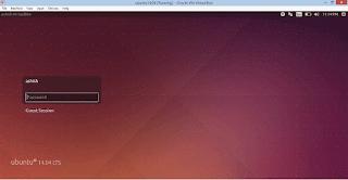 Virutal Box - Guest OS Full Screen Ubuntu