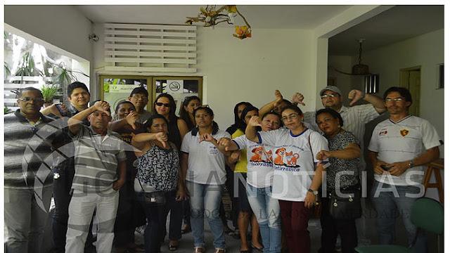 Prefeito de Goiana se reúne com trabalhadores da saúde e discutem o atraso salarial