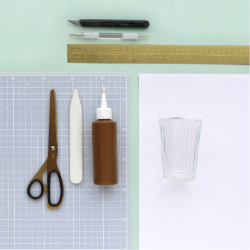 Paper Crafting Tools and Materials