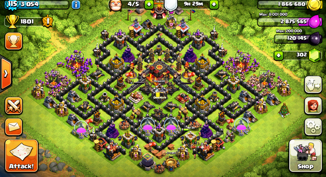 Coc Clash Of Clans Roid Game Download
