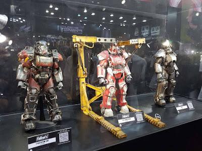 Prototipos mostrados durante los eventos BBICN y Shanghai Comic Convention (SHCC) por Threezero.