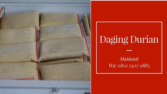 Daging Durian Medan Terharum di Asmat