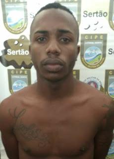 Acusado de dupla tentativa de homicídio contra policiais em Salvador, é preso em Inhambupe