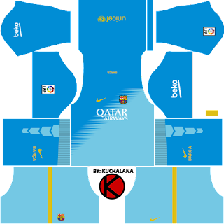 Barcelona Kits 2014/2015 - Dream League Soccer