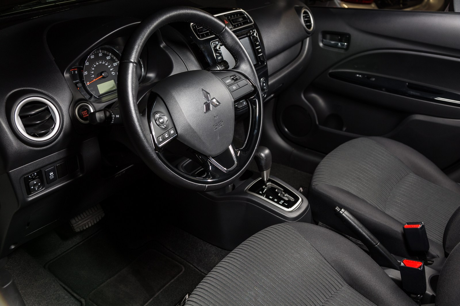 2018 Mitsubishi Mirage And Mirage G4 Gain A 7-Inch