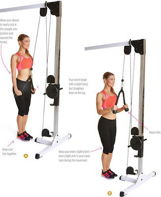women's health - ALTERNATIVE ROPE PRESSDOWN