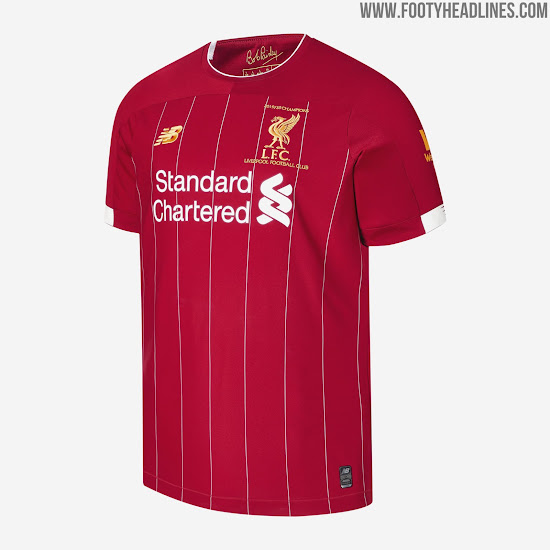 last ever by new balance liverpool 19 20 champions jersey released footy headlines liverpool 19 20 champions jersey