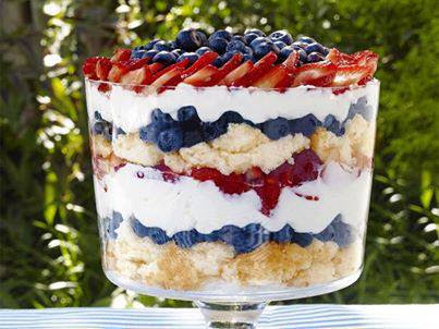 I Can T Pin It Red White And Blueberry Trifle