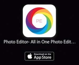 All in One Photo Editing App for iPhone and iPad