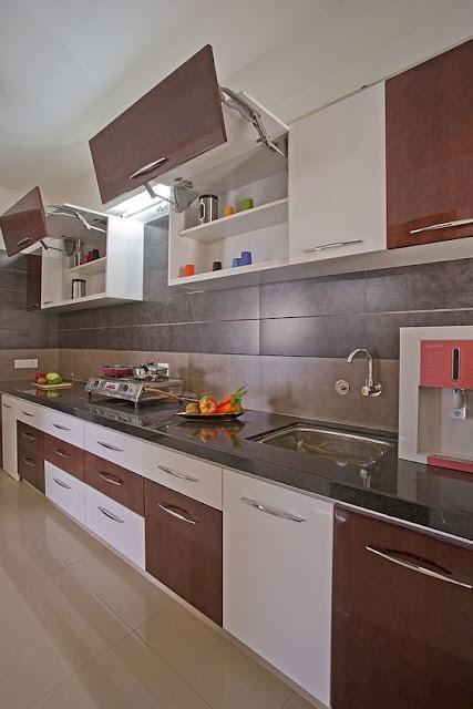VISHU INTERIORS: Low cost Kitchen cabinet ideas