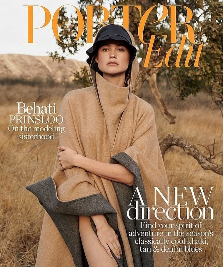 Behati Prinsloo for Porter Edit January 11th, 2019