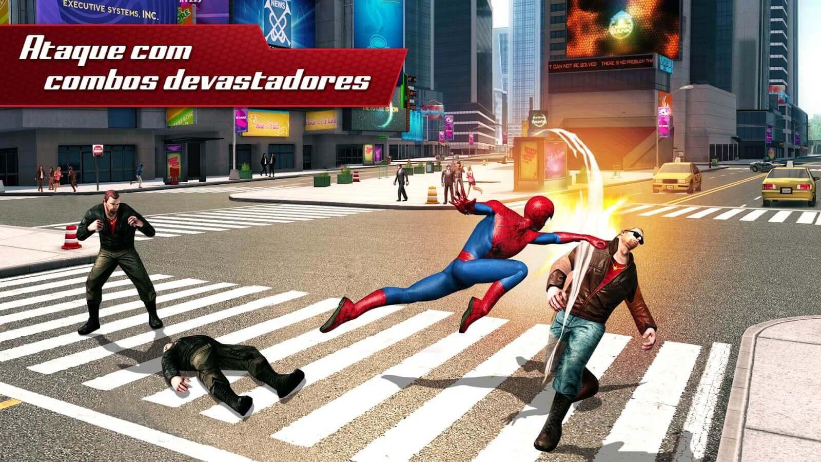 O Espetacular Homem-Aranha 2 MOD DINHEIRO INFINITO 1.2.8d
