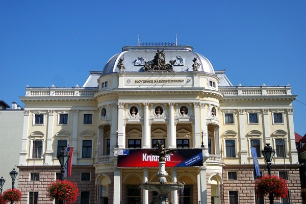 bratislava vieille ville centre théâtre national