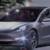 Tesla model 3 Is In The Car