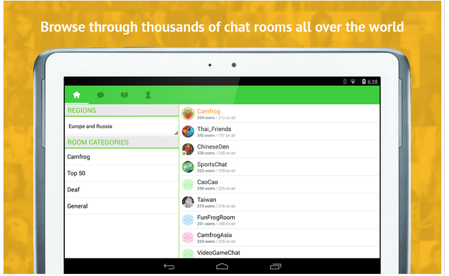 Download Camfrog .Apk Android Gratis Terbaru