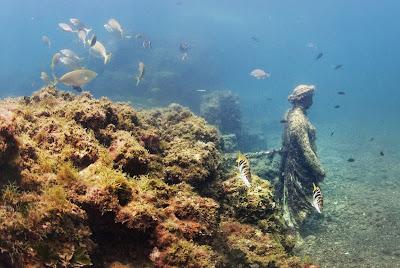 Tapak pusat resort orang kaya empayar Rom di dasar laut