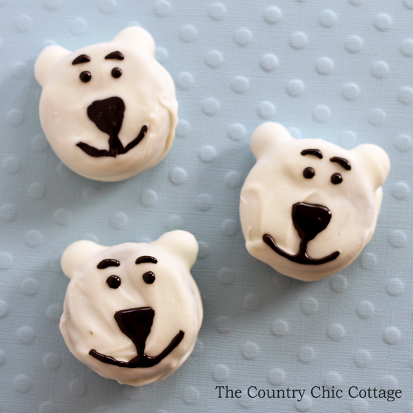 Polar Bear Cookies, Norm of the North polar bear