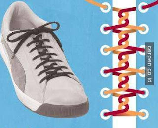 Cara Mengikat Tali Sepatu Putar