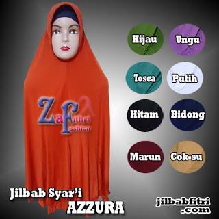 jilbab syar'i azzura jumbo polos
