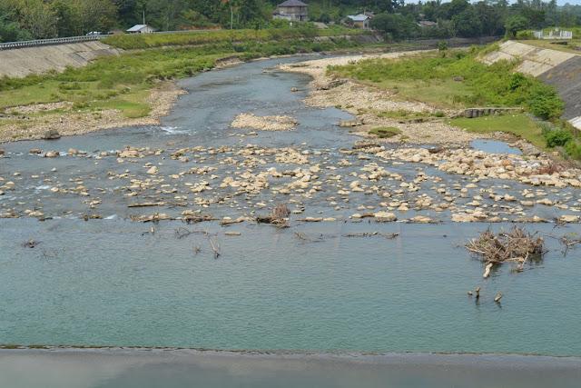 Kemarau, Debit Air Sungai di Abdya Berkurang