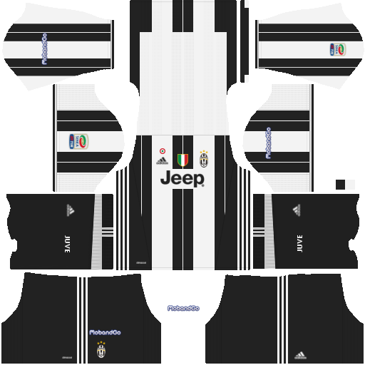 91f642e65 Juventus 512x512 Jersey kits 2016 2017 - Dream League Soccer 16 17 ...