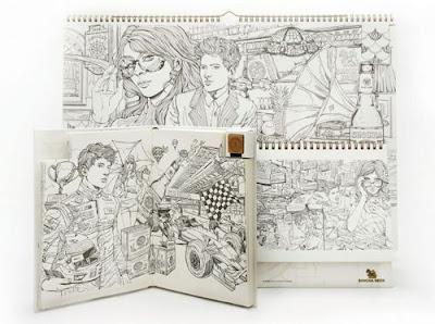 Libreta de bocetos