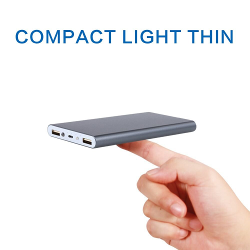POLANFO 20000M Universal Ultra Compact Power Bank External Battery Pack Portable Charger for iPhone 6 Plus 5S 5C 5 4S, iPad Air, mini, Galaxy S6 S5 S4 S3,Tab 4 3 2 Pro, Nexus 4 5 7 10, HTC One, One 2 (M8), LG G3, MOTO X G, most other Phones and Tablets,High Capacity 10000mah