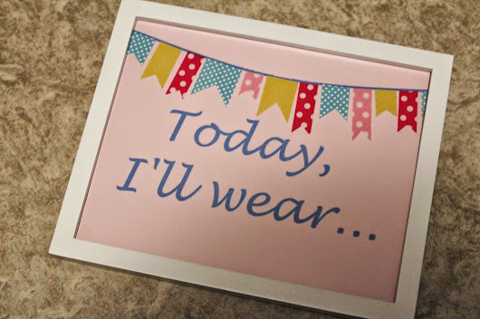 Today I'll wear...