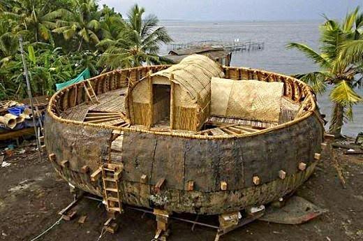 replica arcadenoe tablilla ancestral - Arca de Noé construida en base a una tablilla de 4000 años de antigüedad