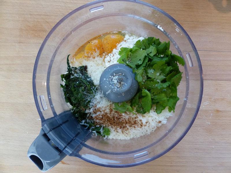 Placez tous les ingrédients dans un mixeur.