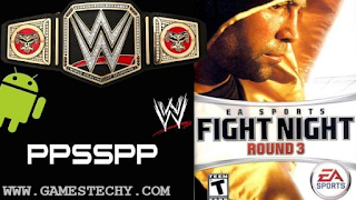 Fight Night Round 3 csoPPSSPP Highly Compressed